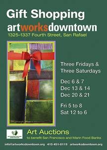 Save the Date - Gift Shopping Art Works Downtown is Coming