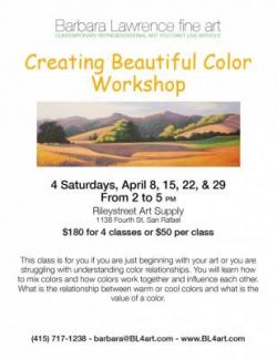 Barbara Lawrence: Creating Beautiful Color Workshop