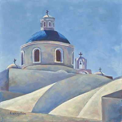 Ann Langston Oia Dome