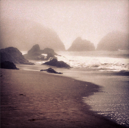 Mary Owens Rodeo Beach Fog