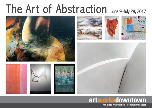 abstraction postcard